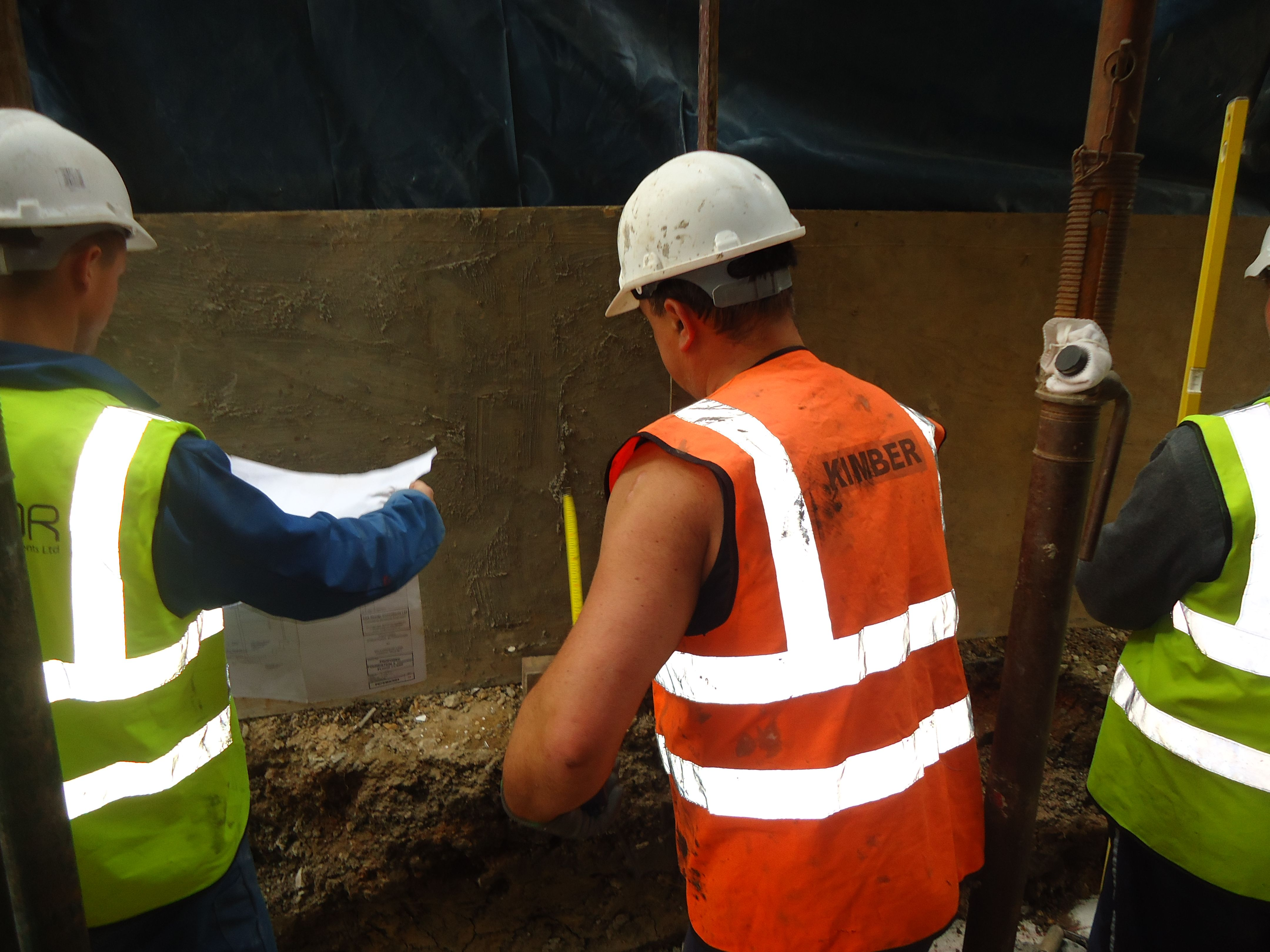 Men at work in Kent and London www.kimbercontracts.com
