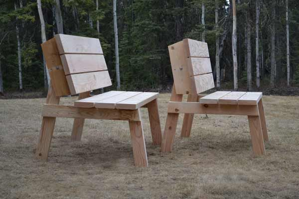 Ana White | Build A Picnic Table That Converts To Benches | Free And Easy  DIY