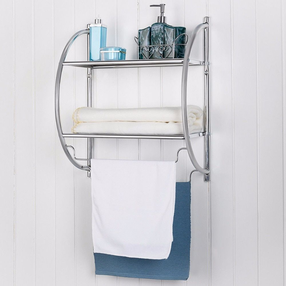 30 Bathroom Shelf With Towel Bar For Your Home Anikasia Bathroom Storage Units Bathroom Storage Cabinet Bathroom Tile Diy