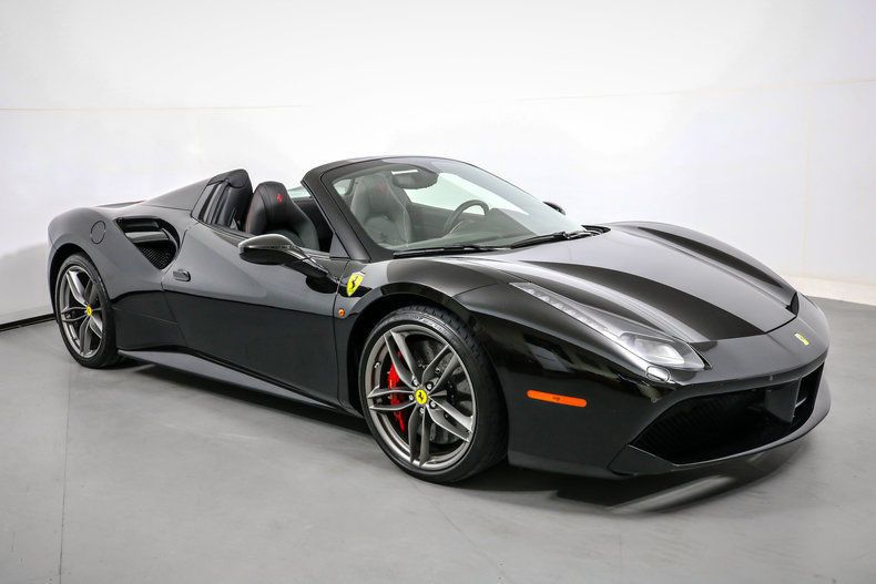 Awesome Ferrari 488 Spider Convertible 2018 Single Owner 2017