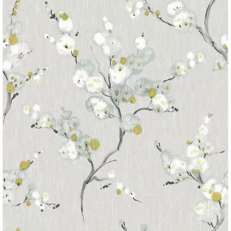 Peel And Stick Removable Wallpaper Target Blue Floral Wallpaper Floral Wallpaper Botanical Wallpaper