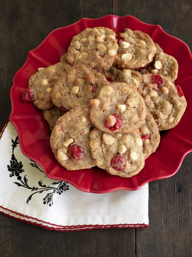 White chocolate cherry chunkies: made these last year and they were awesome. added extra butter like the reviews say.