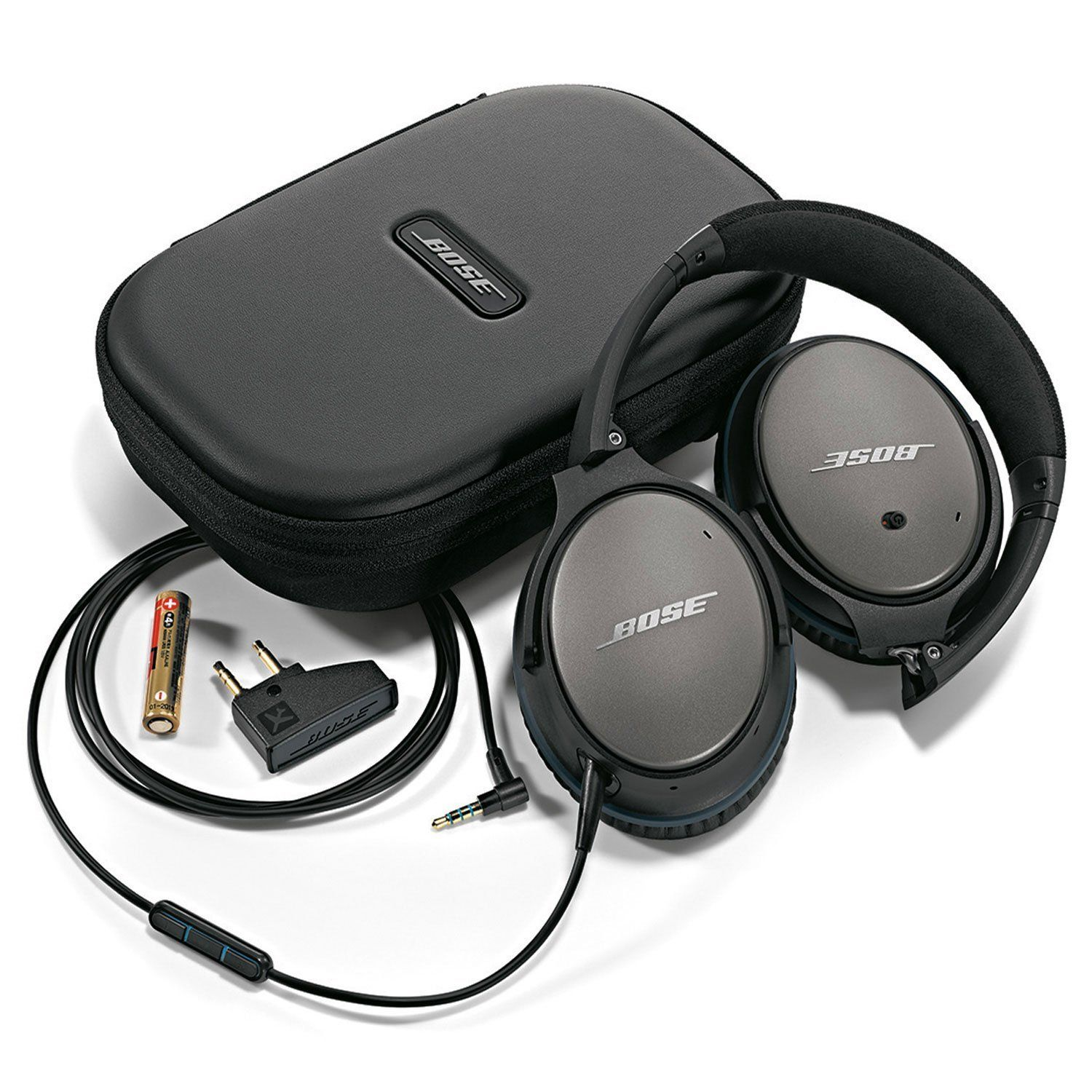 Bose Quietcomfort 25 Acoustic Noise Cancelling Headphones For Apple Ios Devices Bose Headphones Noise Cancelling Headphones Headphones