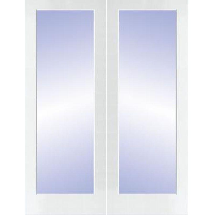 Reliabilt Prehung 1 Lite Pine French Interior Door Common 48 In X 80 In Actual 49 5 In X 81 5 In Reliabilt French Doors Interior Exterior Doors With Glass