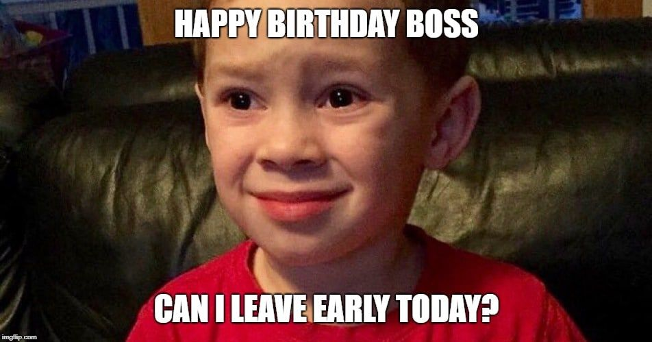 Wishing An Exquisite Happy Birthday Boss 5 Laughing So