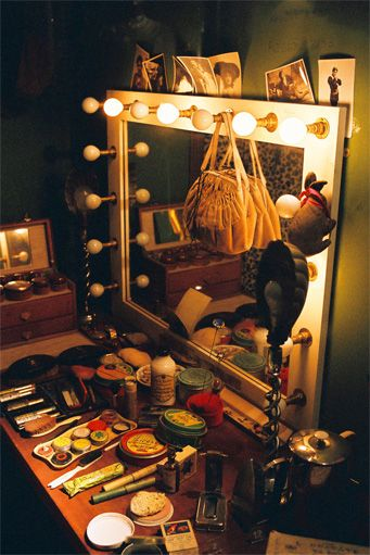 Vintage Backstage Dressing Table