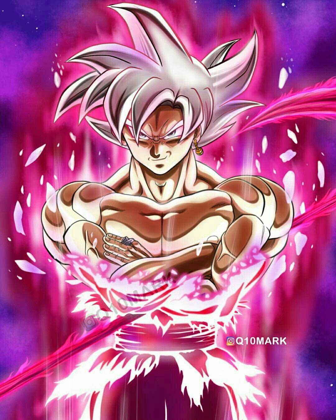 Black Goku Silver (Ultra Instinto Dominado)