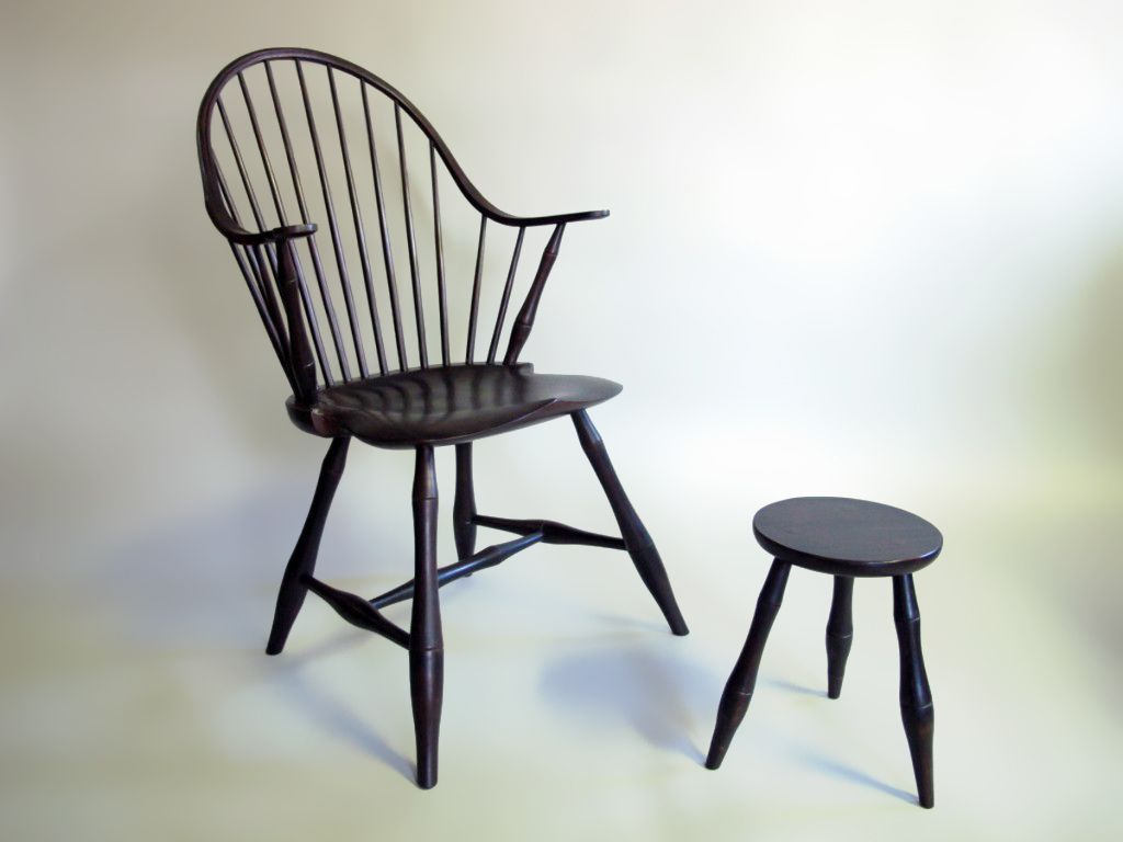 How i learned to make an american windsor chair