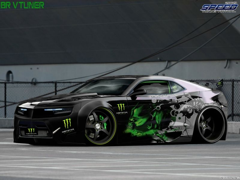 Monster Energy Chevrolet Camaro Ss Above Average Rides