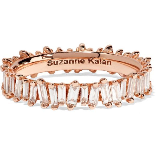 Suzanne Kalan 18-karat Rose Gold Ring