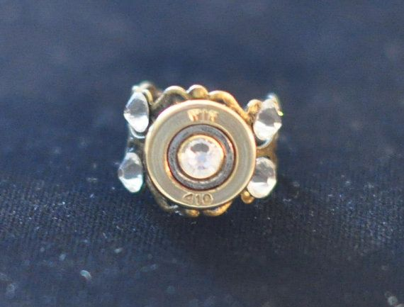 Winchester 410 Gauge  Shotgun Shell  Bullet  by OnTargetJewelry, $11.99