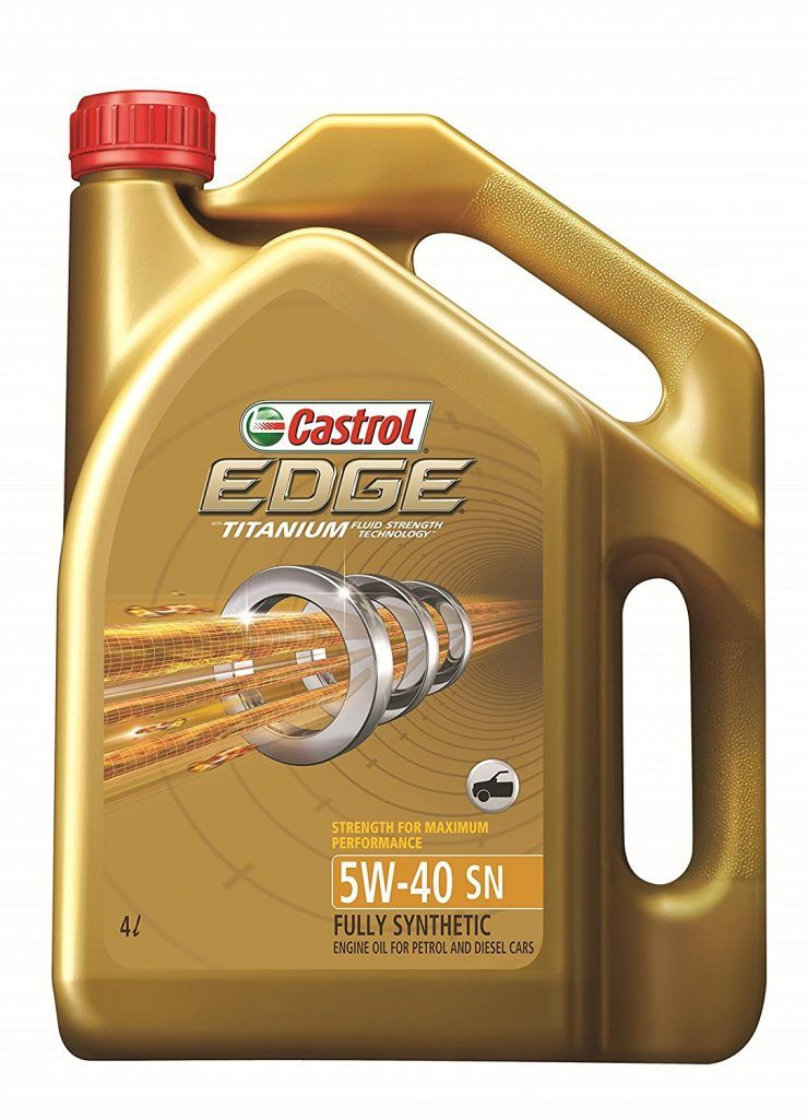 Castrol 3384510 Edge Ti 5w 40 Car Engine Oil 4 L At Rs 2483 From