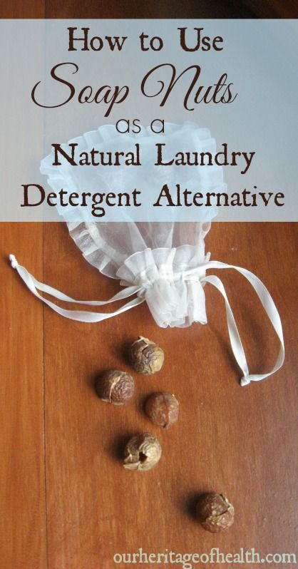 How To Use Soap Nuts As A Natural Laundry Detergent Alternative