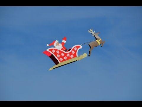 How To Make Reindeer Santa Sleigh Outdoor Project Youtube Santa Sleigh Sleigh Diy Outdoor Decor