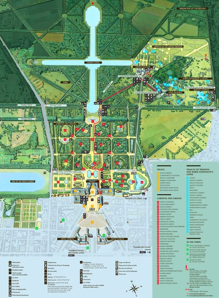 Pau tourist map Maps