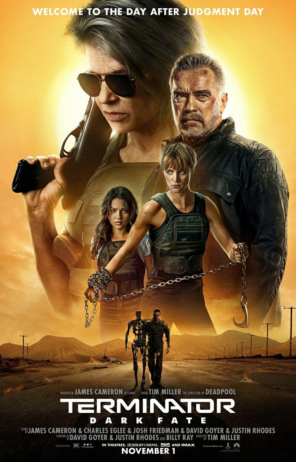New Official Poster For Terminator Dark Fate Terminatordarkfate