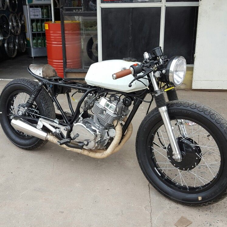 Cb250 Cafe Proyect