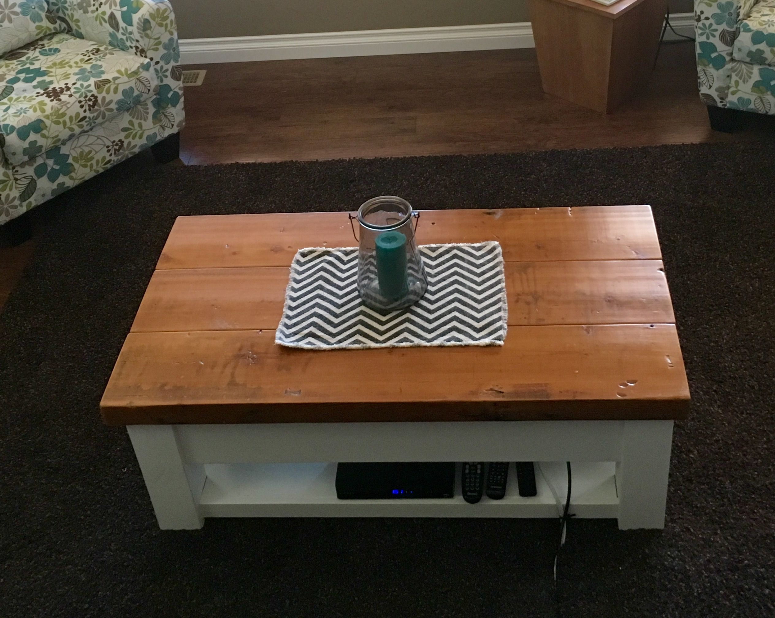 This Table Was A Custom Made Coffee Table Made By Rob At