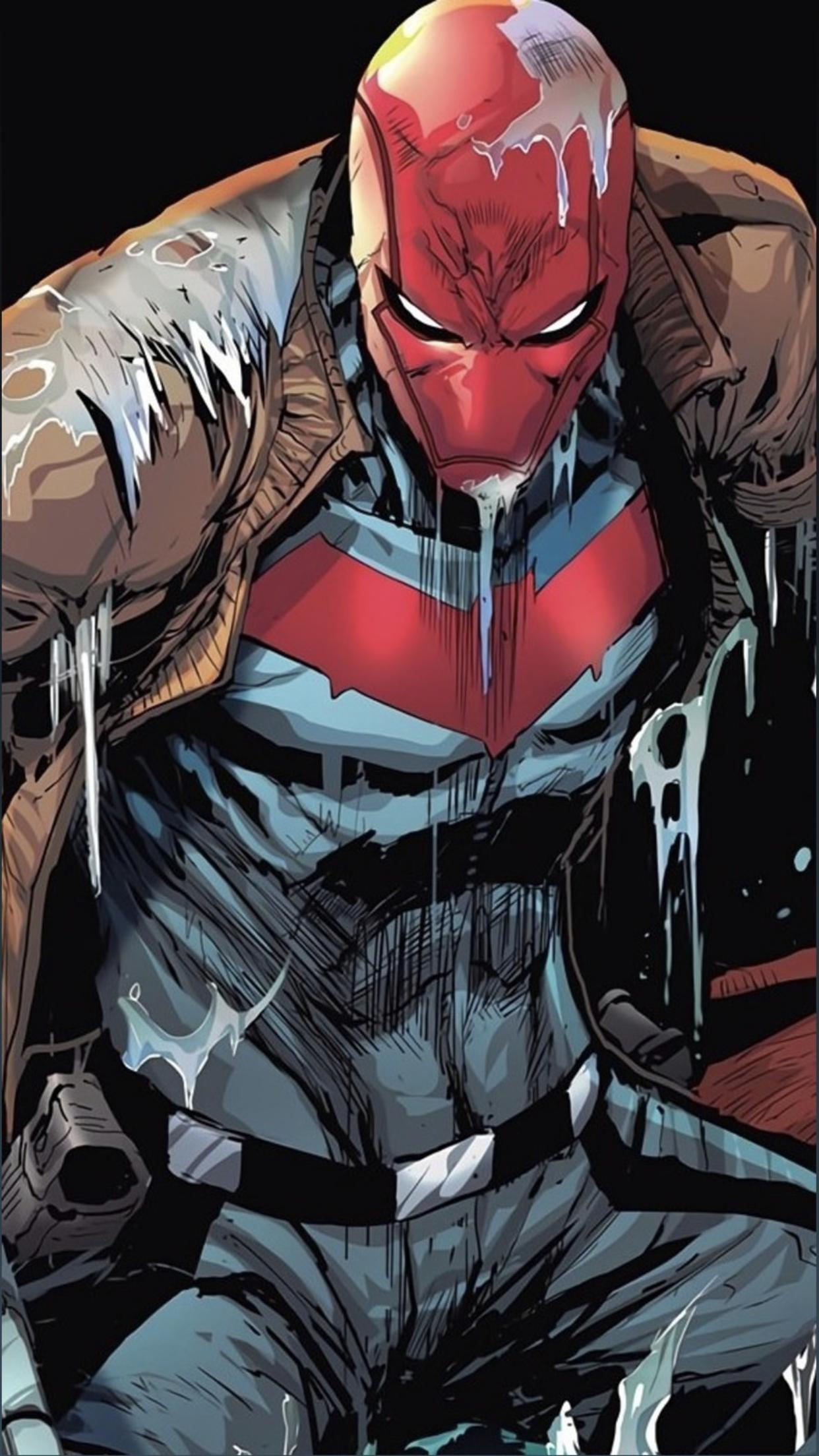 Pin By Pablo On Comic Art Batman Red Hood Red Hood Red Hood Wallpaper