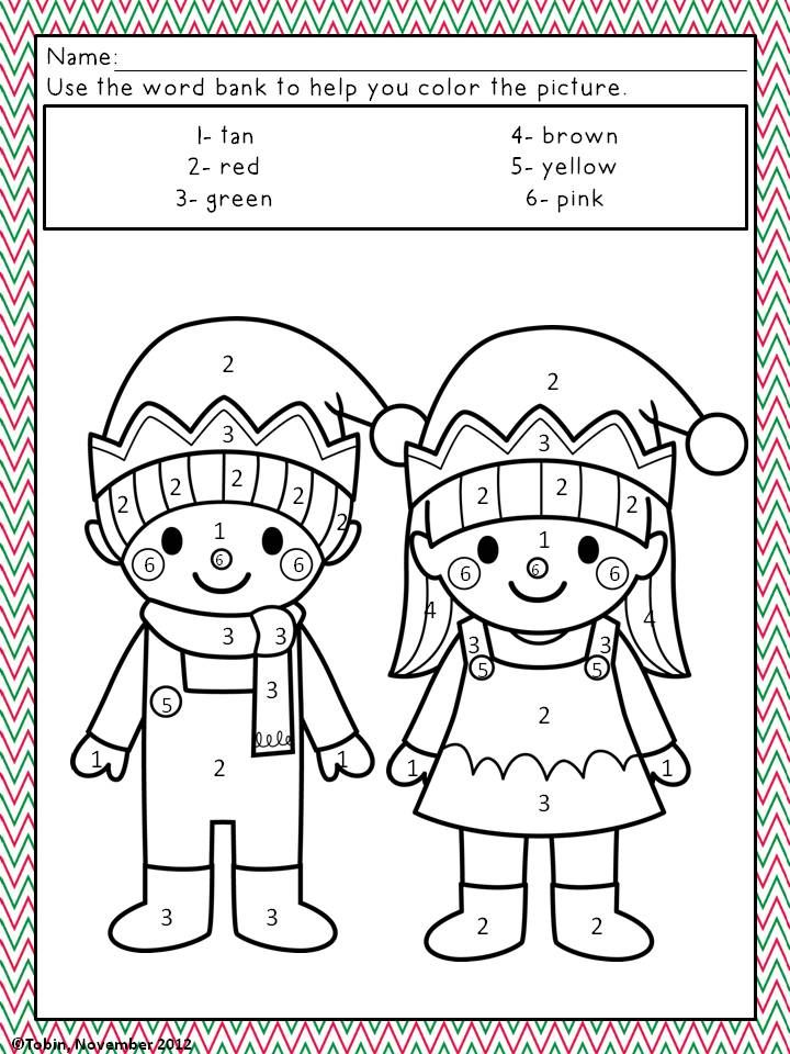 Christmas Activities- Christmas Coloring Pages | Colorear, Navidad y ...