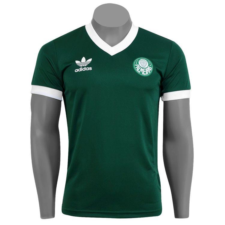 Palmeiras Vintage Soccer Shirt  d7175fcfe799a