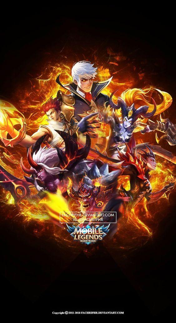 Mobile Legends Wallpaper Gambar Desain Karakter Game Gambar Naga
