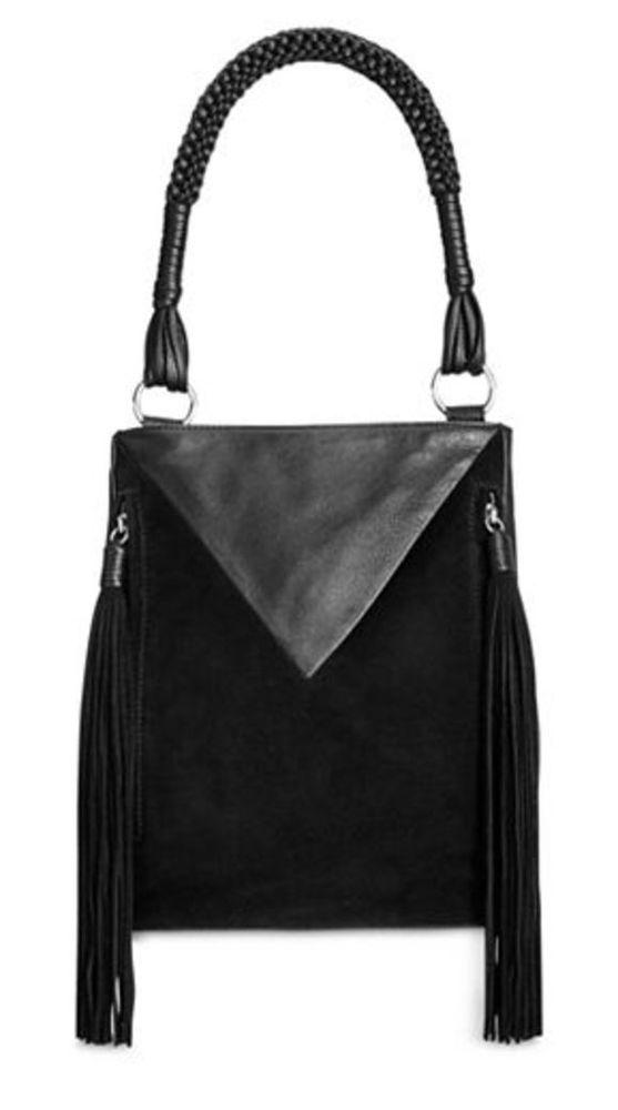 Sam Edelman Handbag Monica Leather Suede Fringed Bucket Bag Purse NWT  278.00  SamEdelman  MONICAnew  nwt  tags  newlisting  markdown   freeshipping  dustbag ... 68a9982eb7