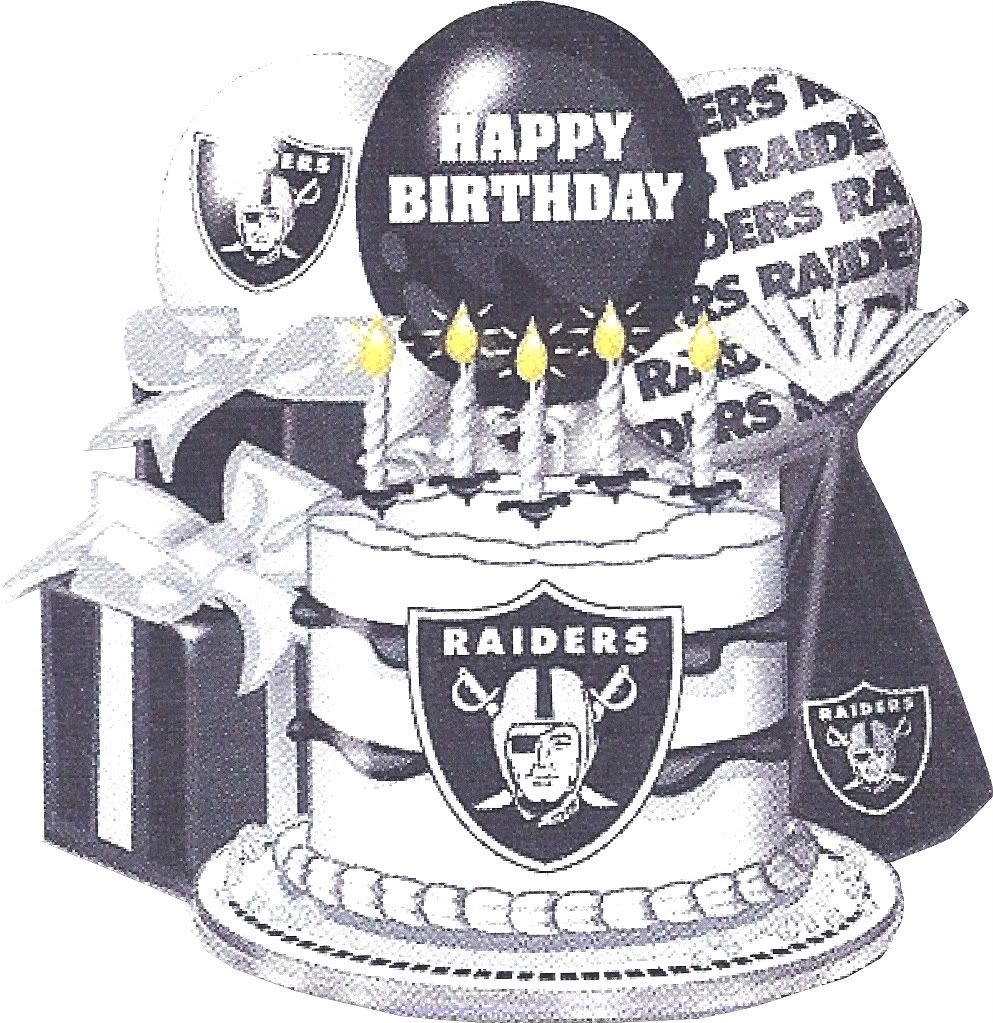 Raider De Oakland >> Raider Birthday wish | MY RAIDERS | Pinterest | Birthday wishes, Birthdays and Happy
