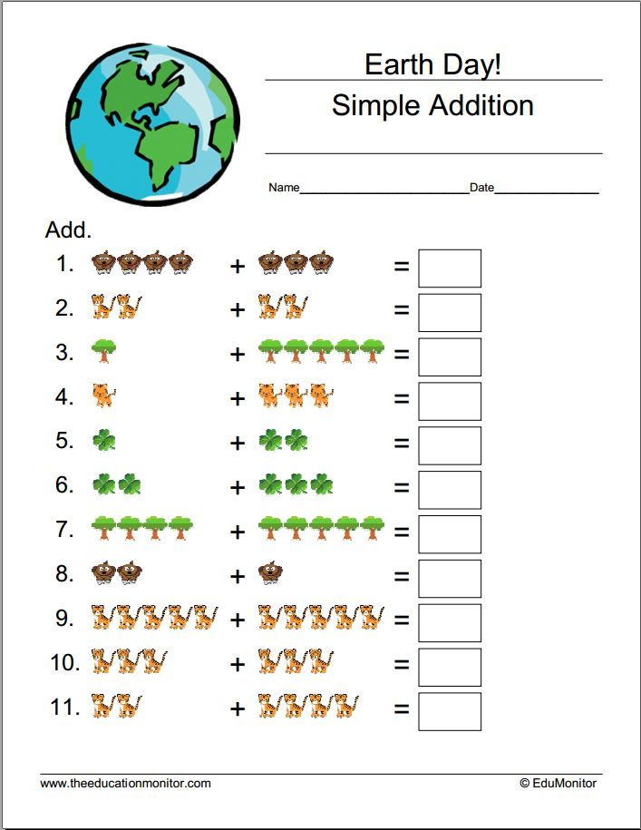 Earth Printable Worksheets