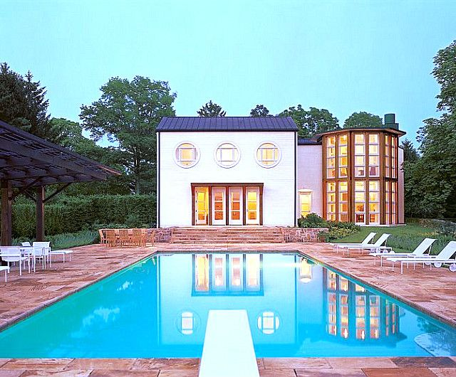 Alexander House, Princeton, New Jersey, 1971, Michael Graves The