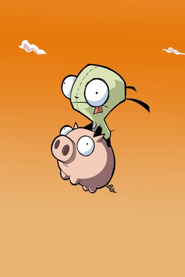 Invader Zim Invader Zim Funny Phone Wallpaper Cute Wallpapers