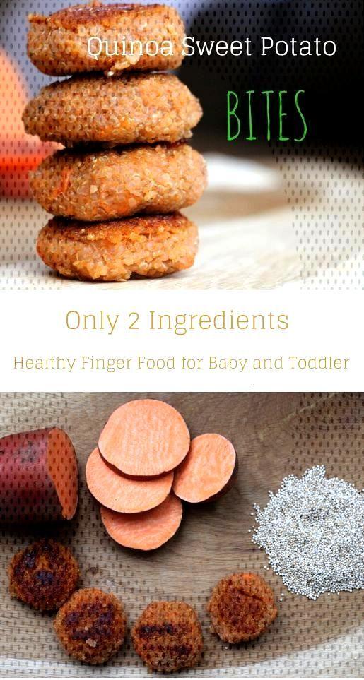 Sweet Potato Quinoa Bites - Feeding Bytes - Yummy Toddler Food | Healthy Recipe Ideas for Picky Eat
