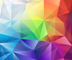Abstract colorful vector polygonal background for use in design art illustration also rh za pinterest