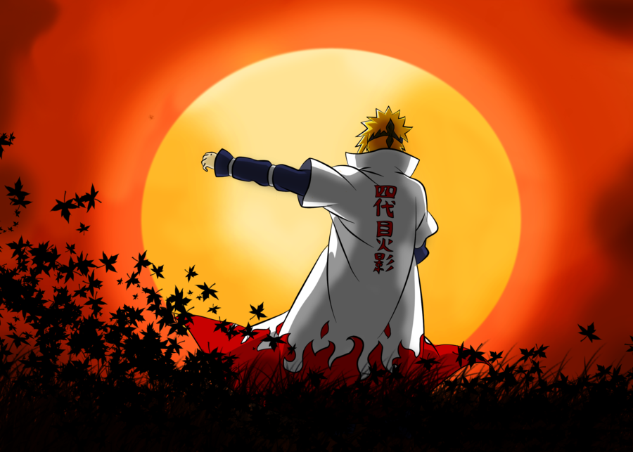Minato 4th Hokage Wallpapers Seni Anime Seni Animasi