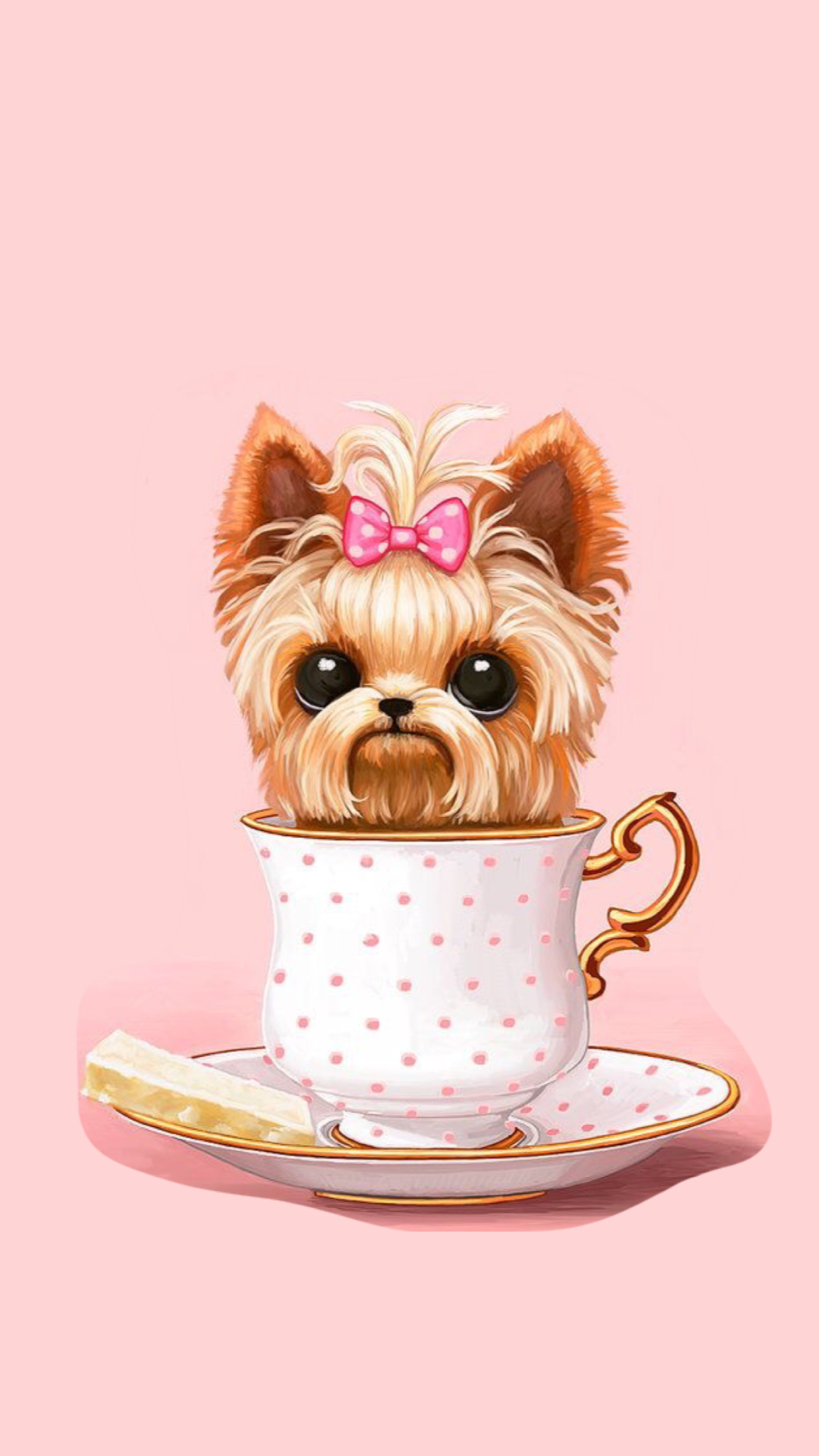 Pin de Vivien Salomon en Apple wallpapers Arte del perro