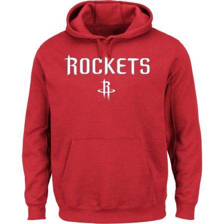big sale 80bc6 065fe NBA Houston Rockets Big Men's Hooded Fleece Sweatshirt, 2XL ...
