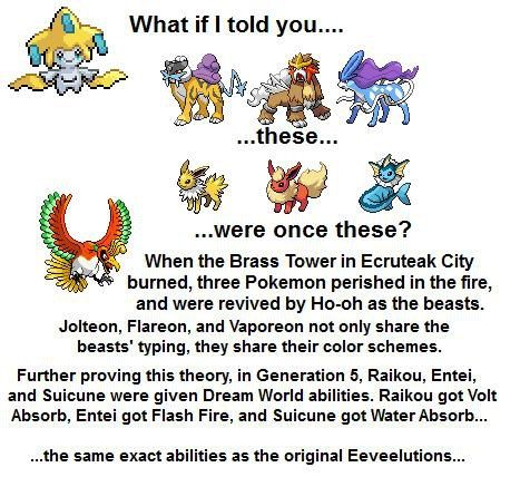 Pokemon Fan Theories Pokemon Pokemon Facts Pokemon Theory