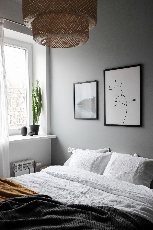 Best Scandinavian Style Bedroom Linen Bedding Sinnerlig 400 x 300