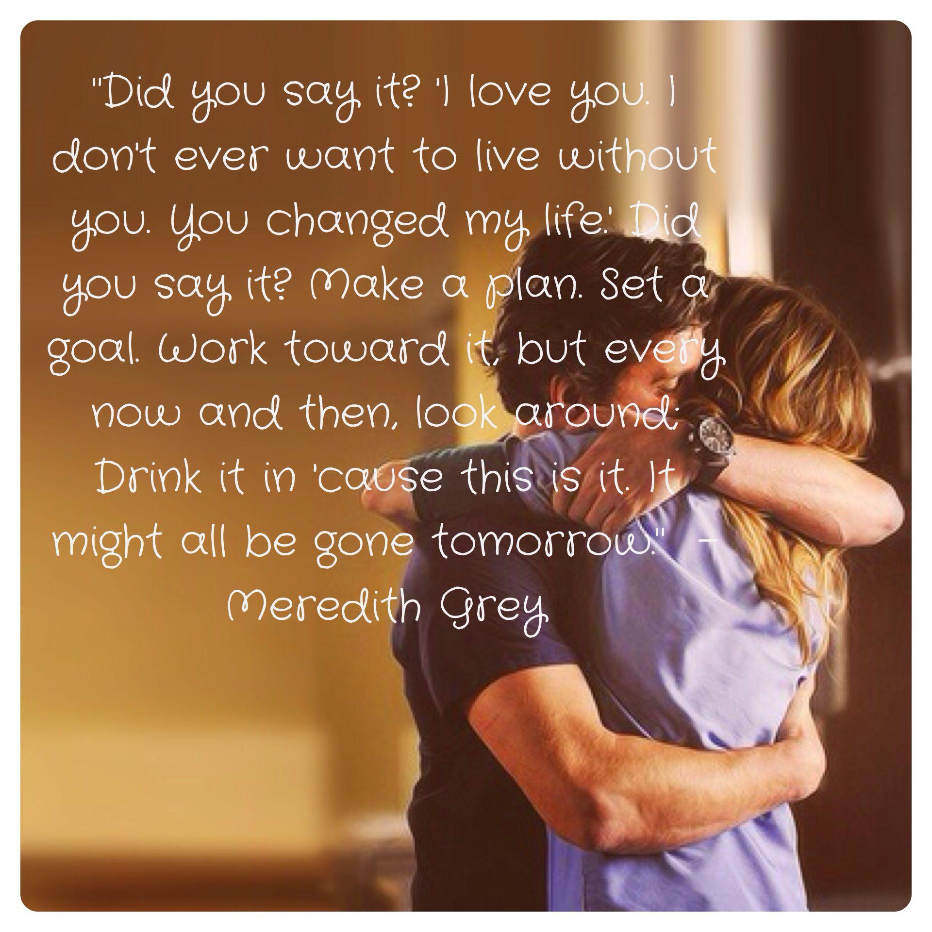 Quotes - Meredith Grey - Grey\'s Anatomy | quotes | Pinterest ...