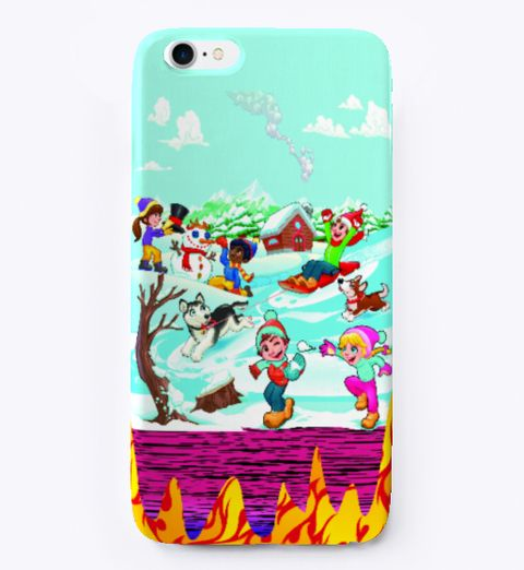 Animal Lover I Phone Cover Best Desing White T-Shirt Front iPhone
