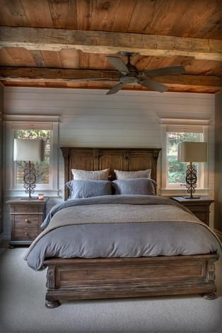 Best 25 Rustic Cabin Master Bedroom Ideas On Pinterest