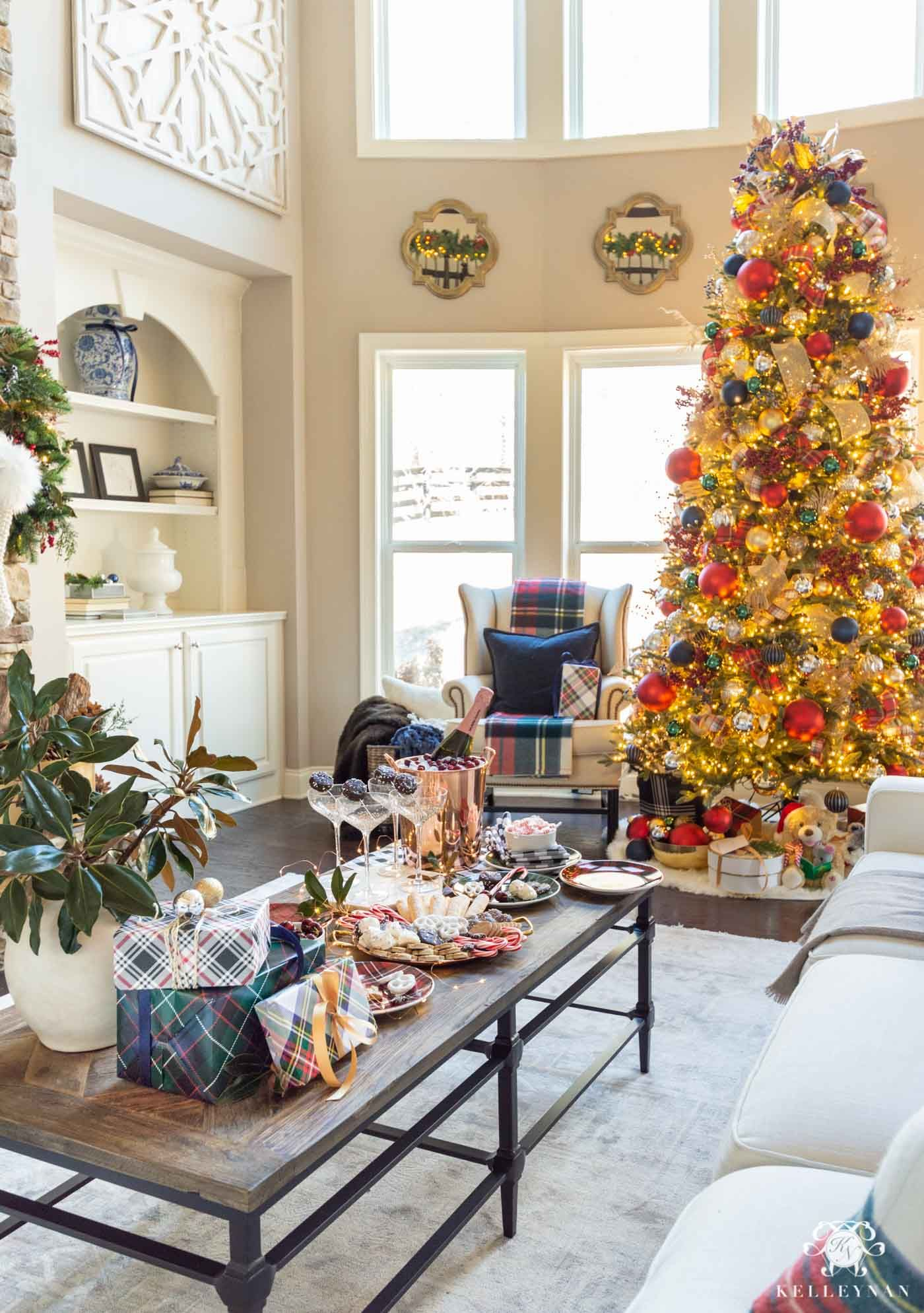 3 Unique New Year S Eve Party Ideas Entertaining Tips Kelley Nan In 2020 Holiday Decor Elegant Holiday Decor Halloween Home Decor