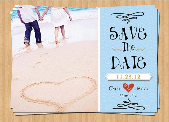 17 Best images about Save the Date – Save the Date Cards Beach Wedding