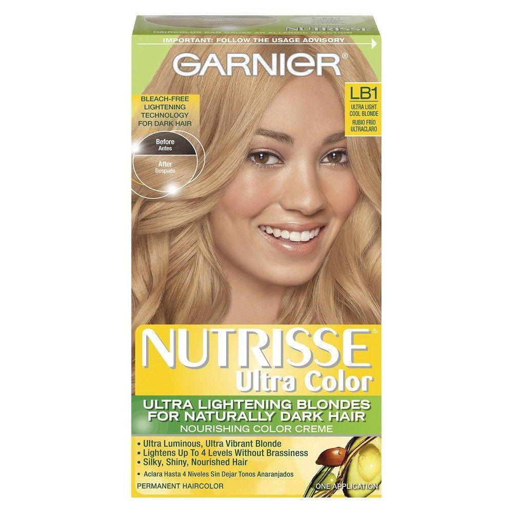 Garnier Nutrisse Ultra Color Nourishing Color Creme Lb1 Ultra Light