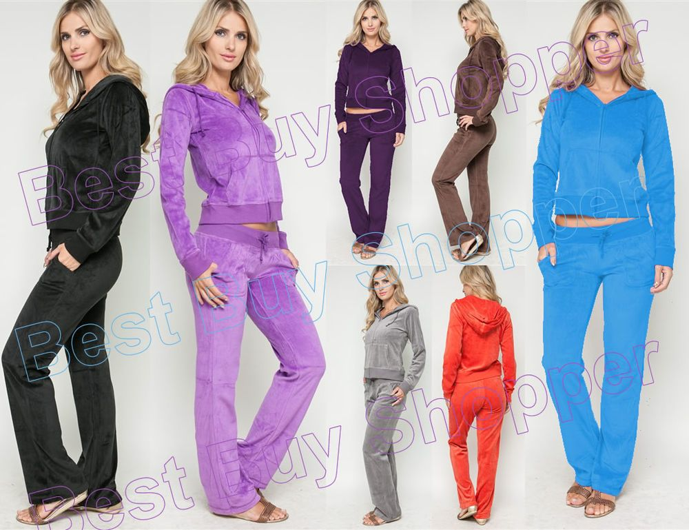 Old Navy velour exercise suits, I have these sweatsuits/track suits in  black velour and fuchsia/purple velour