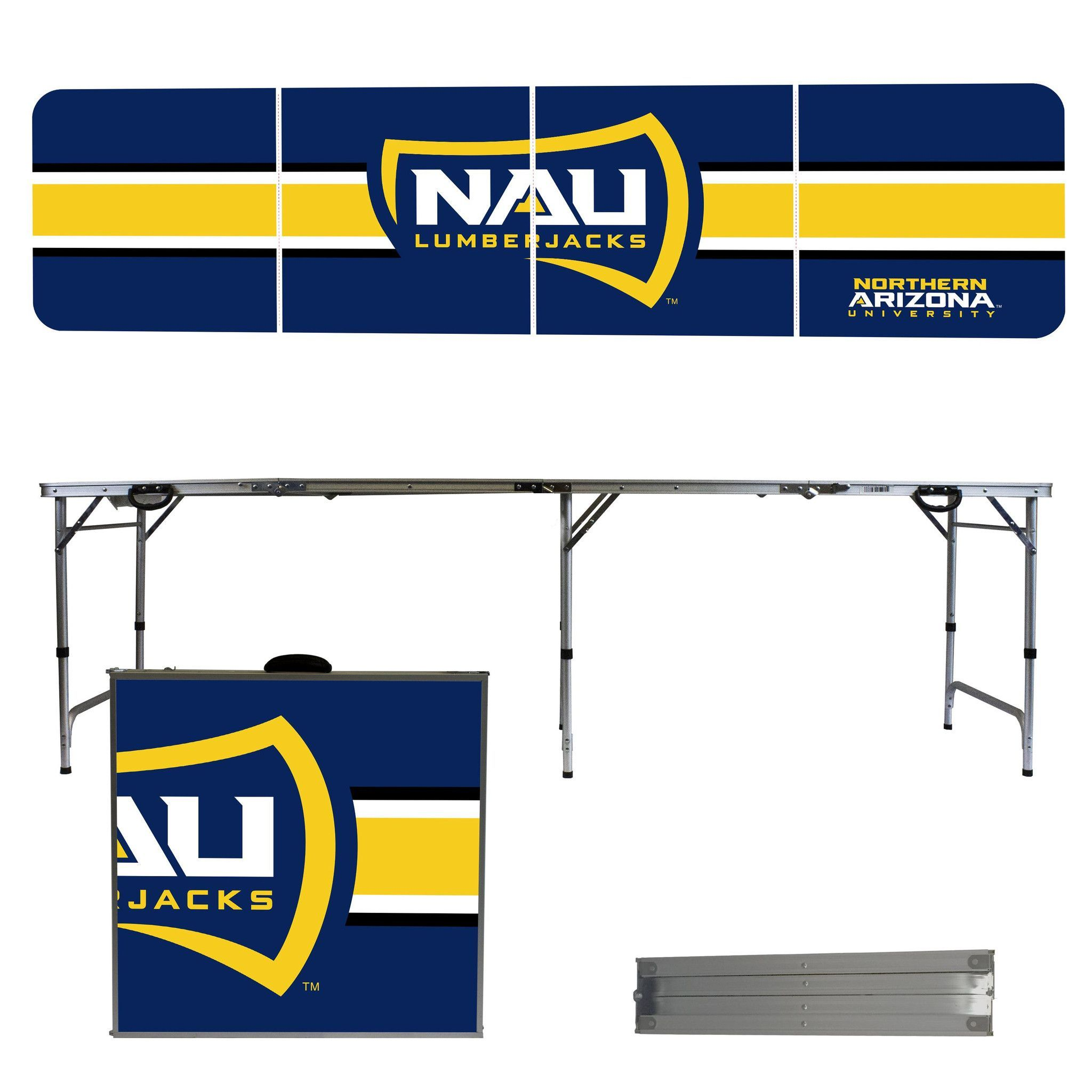 Northern Arizona Lumberjacks 8 Foot Portable Tailgate and