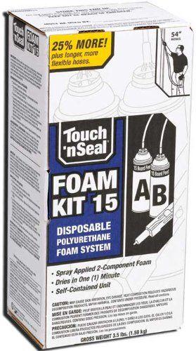Touch N Seal 4004520015 U2-15 Spray Closed Cell DIY Foam ...