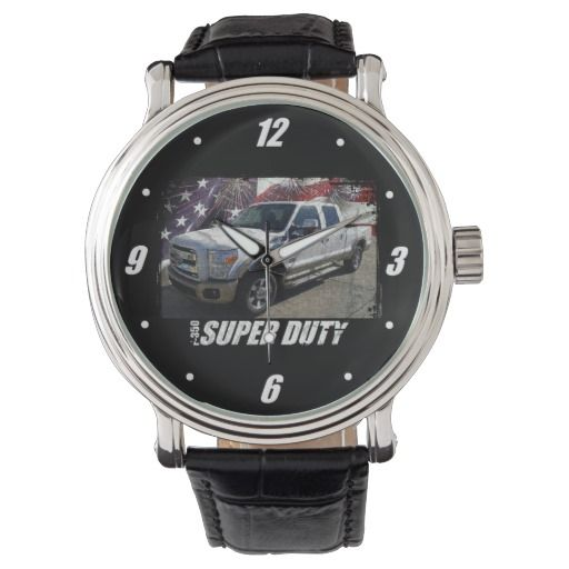 2013 F-350 Super Duty SuperCrew Lariat Wristwatch