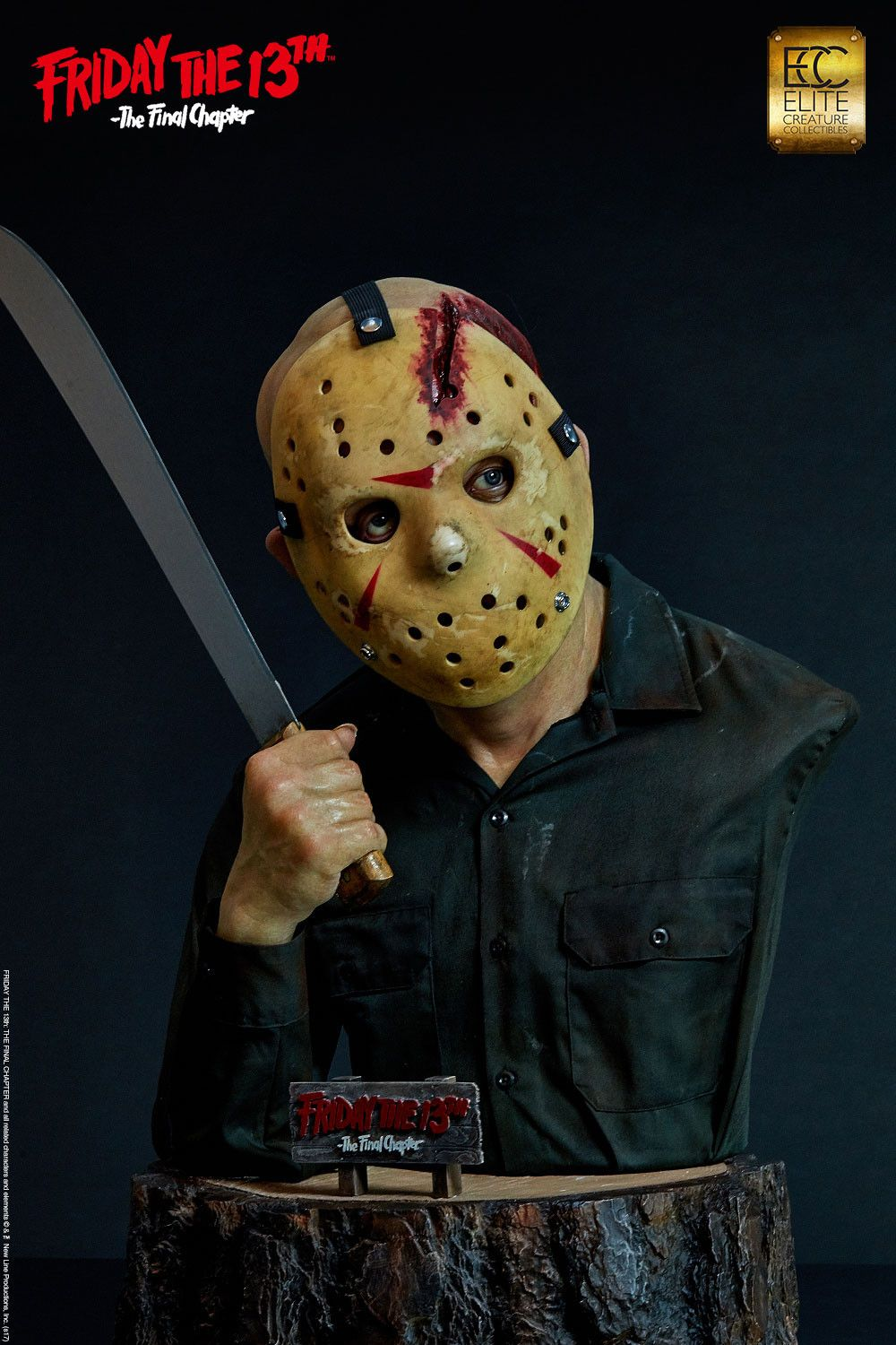 7525c956821 Friday the 13th  The Final Chapter - Jason Voorhees 1 1 Scale Life-Size Bust
