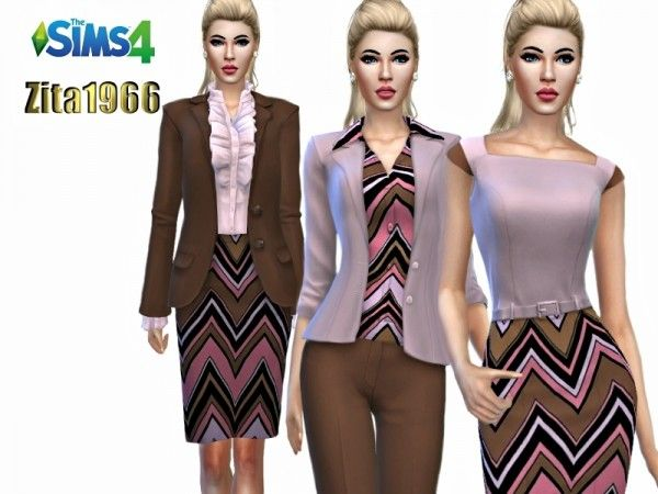 The Sims Resource: Passionate Pink Collection by ZitaRossouw • Sims
